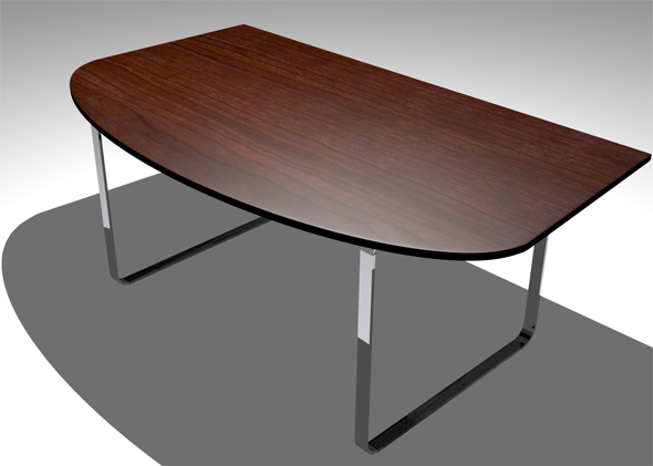 3DOcean Simple Office Desk 4361756