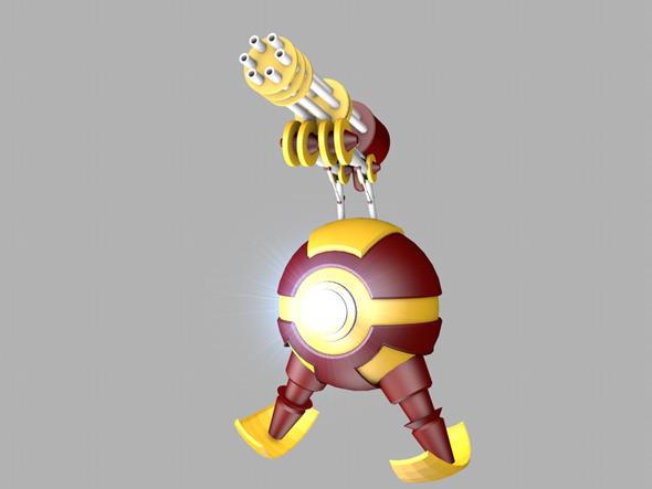 3DOcean Iron Robot 4361842