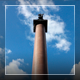 Clouds In The Blue Sky Over The Alexandria Column - VideoHive Item for Sale