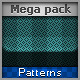 Mega Pack Patterns for Web - GraphicRiver Item for Sale