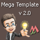 Mega PHP Template Engine - CodeCanyon Item for Sale