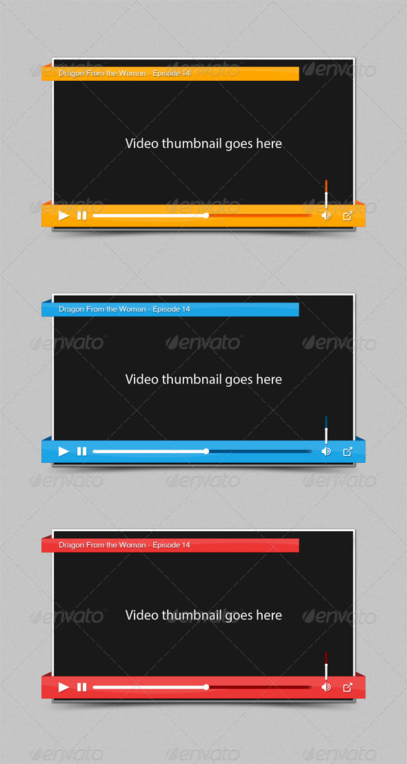 Ribbon Video Player - Forms Web Elements