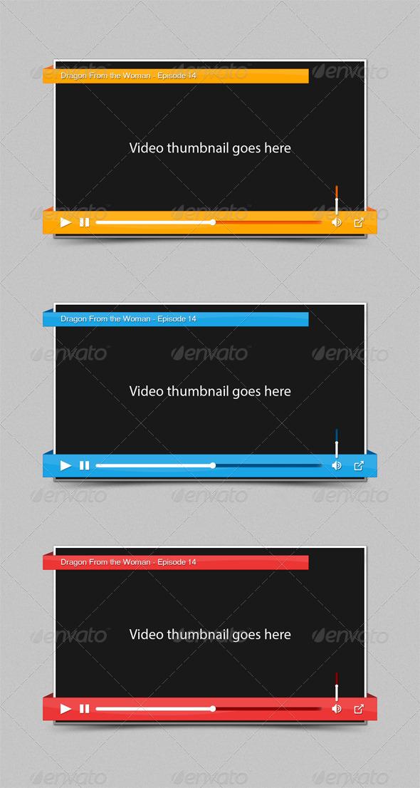 GraphicRiver Ribbon Video Player 4362975