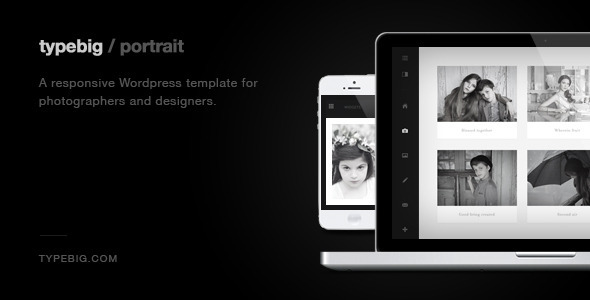 ThemeForest Portrait Retina Ready Responsive Wordpress Theme 4333025