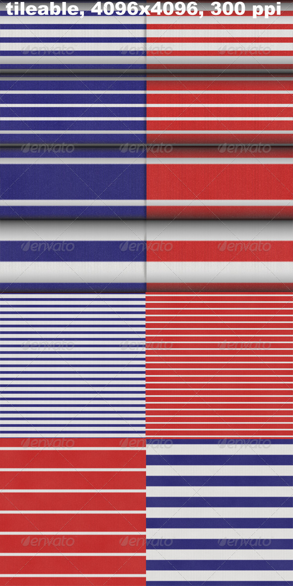 GraphicRiver 8 Marine Stripes Textures 4363487