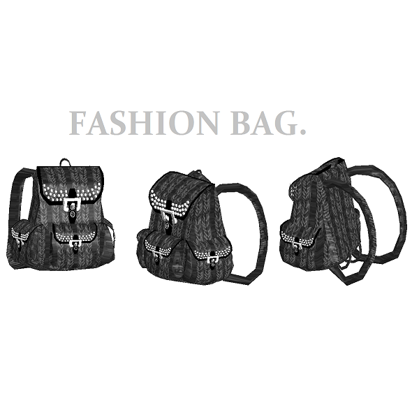 Fashion Bag - 3DOcean Item for Sale