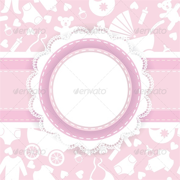 GraphicRiver Baby Shower Card 4364617