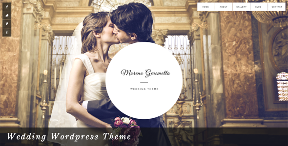 ThemeForest Moreno Responsive Wedding Wordpress Theme 4123180