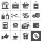 Shopping Icons Set - GraphicRiver Item for Sale