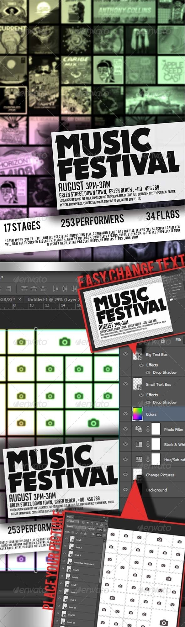 GraphicRiver Festival Flyer 4232640