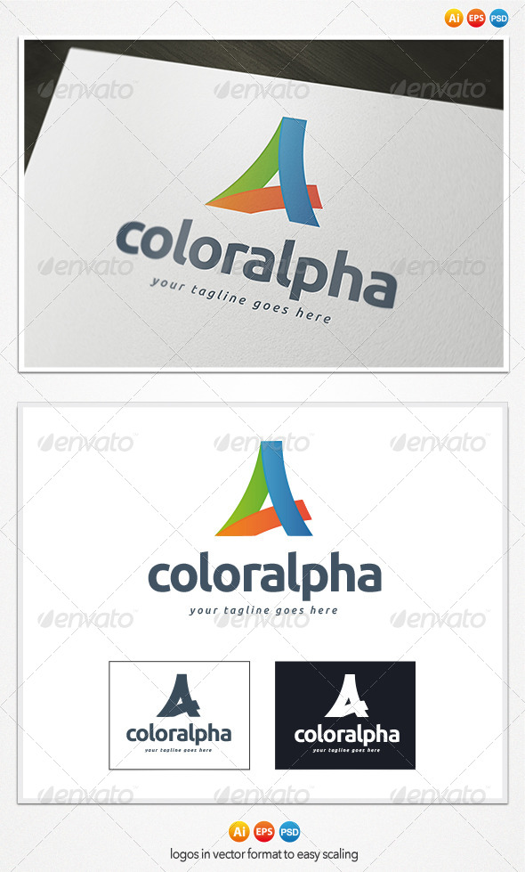 GraphicRiver Color Alpha Logo 4284557