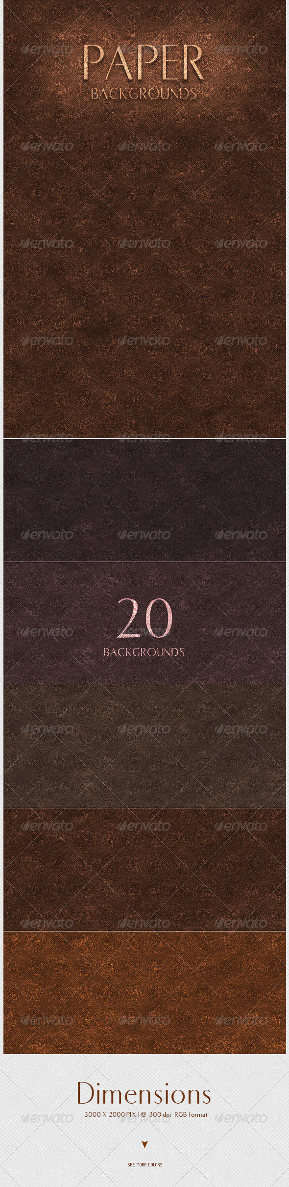 GraphicRiver Paper Backgrounds 4365684