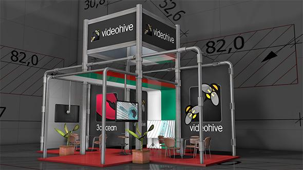 Amaizing Exhibition Pavilion 4 - 3DOcean Item for Sale