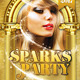 Sparks Party Flyer Template - GraphicRiver Item for Sale