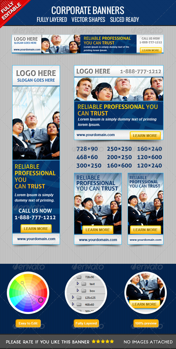 GraphicRiver Corporate Banners 4252487