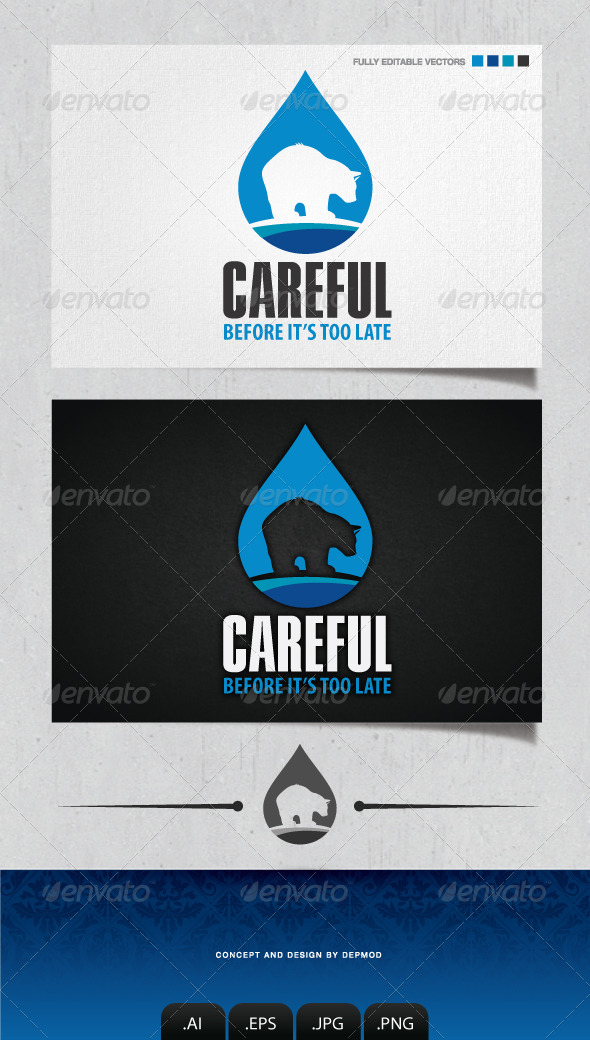 GraphicRiver Careful Logo 4139562