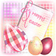 Burberry Easter Card with Tridimensional Eggs - GraphicRiver Item for Sale