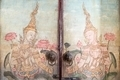 Very old vintage door with Buddha gods painting on it - PhotoDune Item for Sale