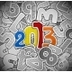 New Year from a Paper - GraphicRiver Item for Sale