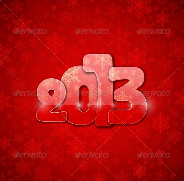 GraphicRiver New Year from Glass 4367897