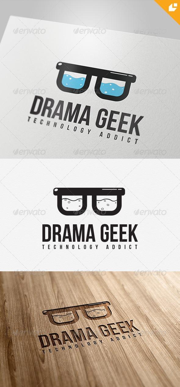 GraphicRiver Drama Geek Logo 4367971