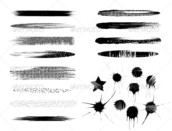 GraphicRiver Set of Brushes 4368315
