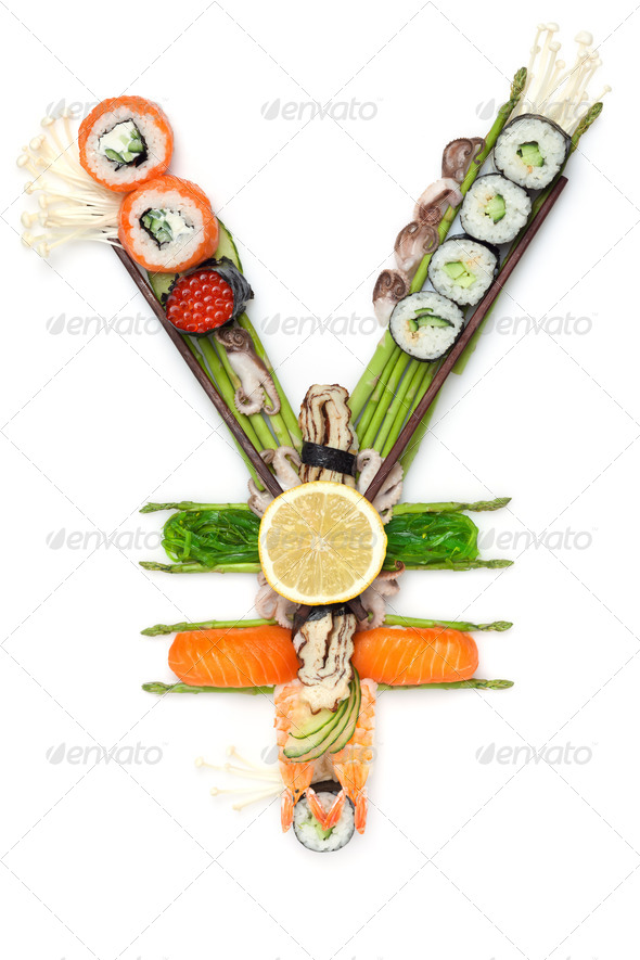 Fish tuna by sushi. - Stock Photo - Images