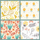 Flowers Patterns - GraphicRiver Item for Sale