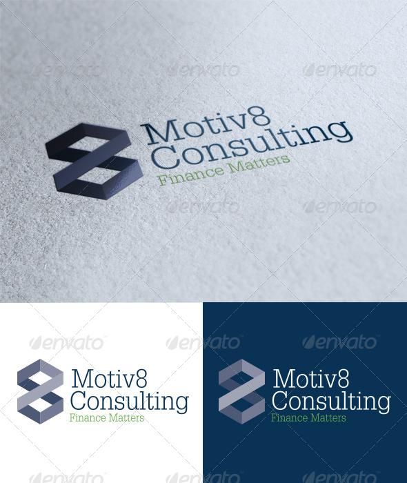GraphicRiver Motiv8 Consulting Logo 4278970