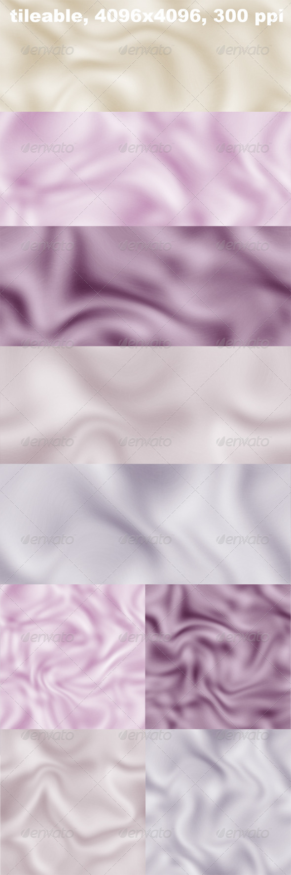 GraphicRiver 5 Silk Textures 4370129