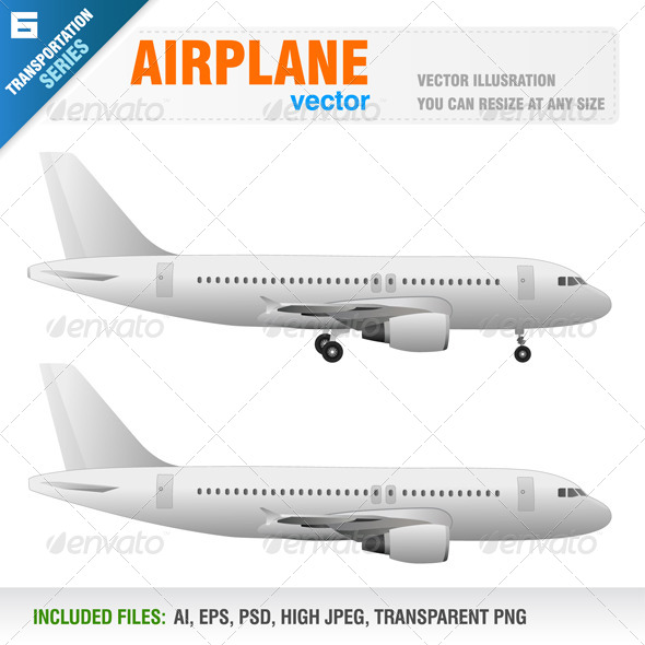 GraphicRiver Airplane 4370641