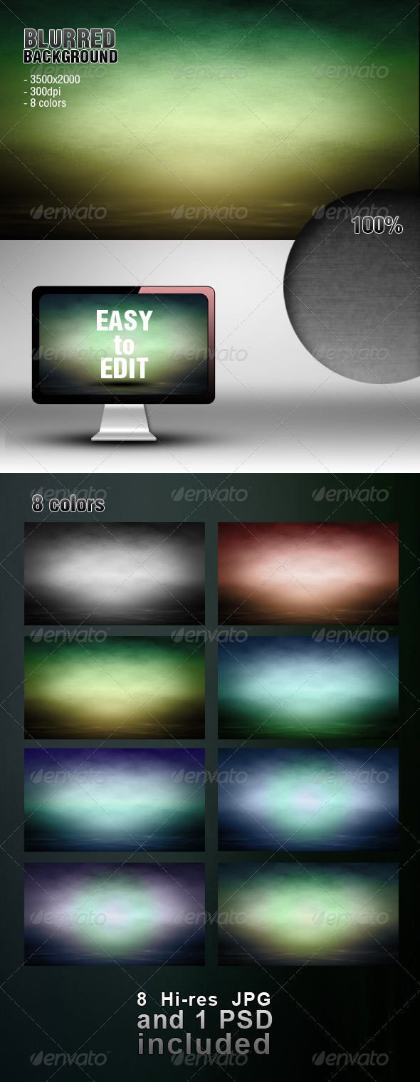 GraphicRiver Blurred Background 4370902