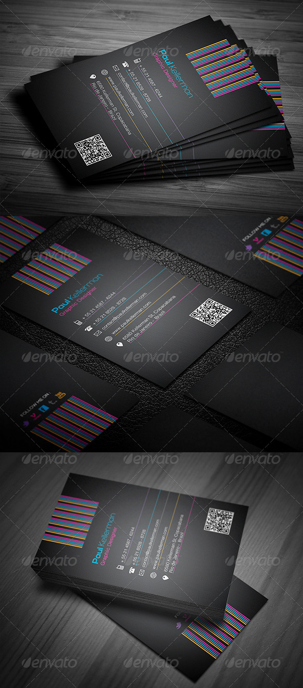 GraphicRiver Line Pro Business Card 4371210