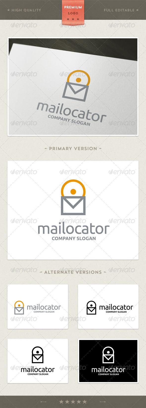 GraphicRiver Mailocator Logo Template 4371498