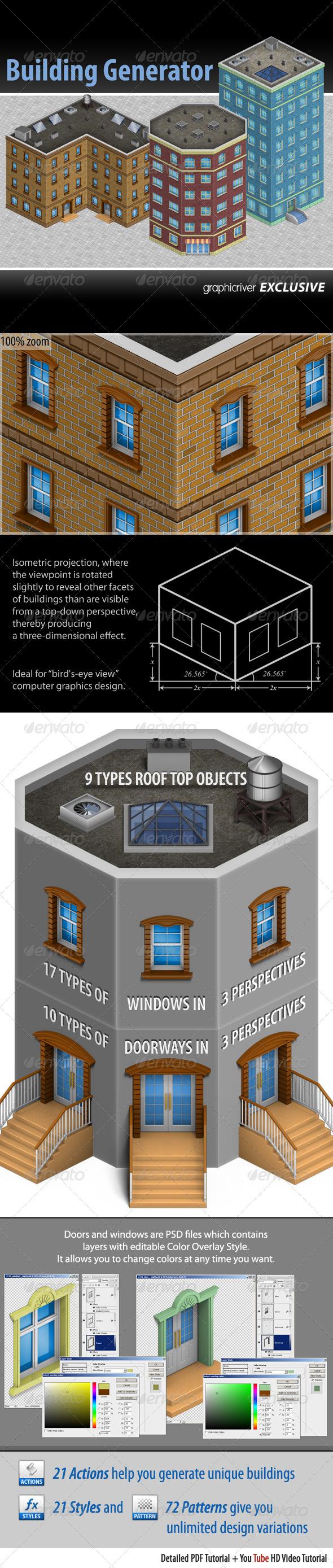 GraphicRiver Building Generator 4371557