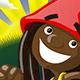 Reggae Gnomes - Fay'mon Illustration - GraphicRiver Item for Sale