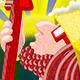 Reggae Gnomes - Aye'do Illustration - GraphicRiver Item for Sale