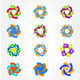 Colorful Circle Vector - GraphicRiver Item for Sale