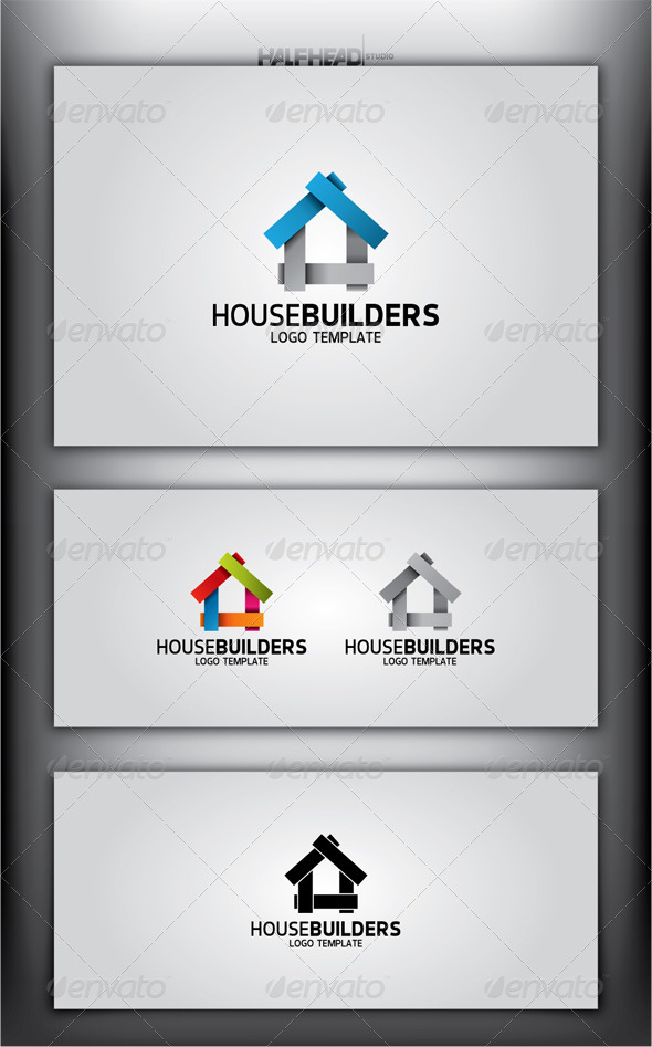 GraphicRiver HouseBuilders Logo Template 4299126