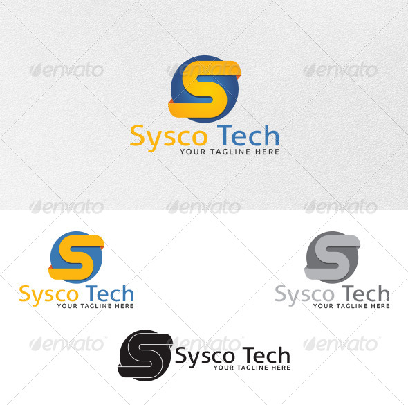 GraphicRiver Letter S Logo Template 4299628