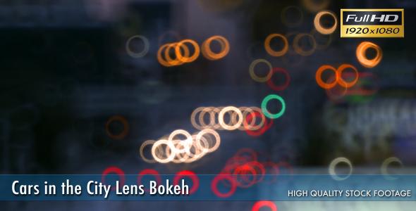 Cars in the City Lens Bokeh 3