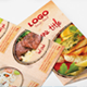 Food Menu Tri-fold Brochure - GraphicRiver Item for Sale