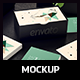 Business Card with Box Mockup - GraphicRiver Item for Sale