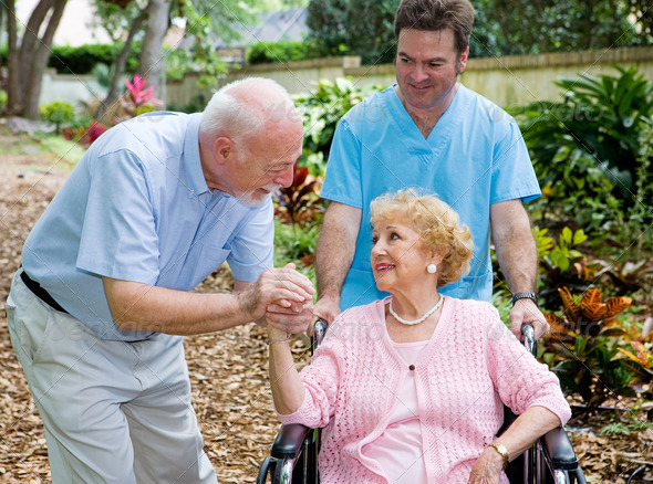 Stock Photo - PhotoDune Nursing Home Visit 469351