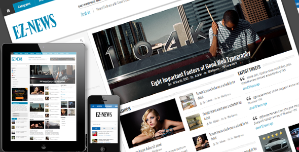 EZ-News HTML5 Template