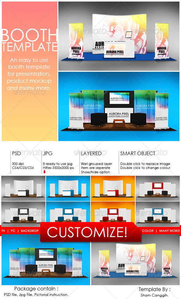 GraphicRiver Booth Template Part 7 4333976