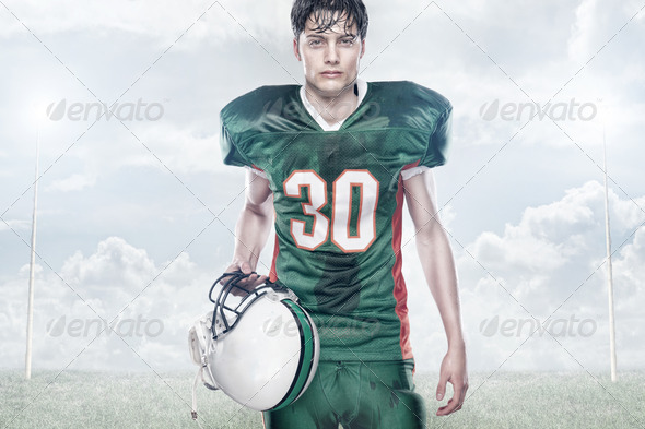 PhotoDune American football 4374503
