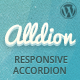 Alldion - Responsive accordion for WordPress