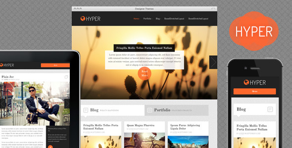 Adapt, a Responsive WordPress Theme Download