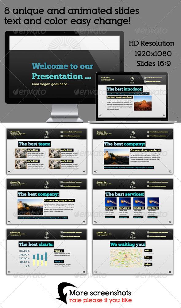 GraphicRiver In Jan Keynote Presentation 4374967